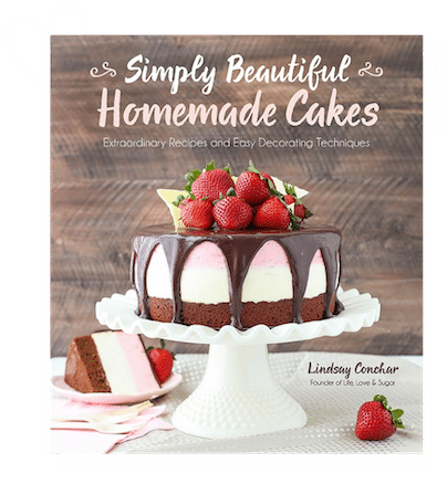 Cover of Simply Homemade Cakes Cookbook